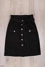 Школьная юбка для девочки рост 128-152 (8-12 лет) 2 цвета