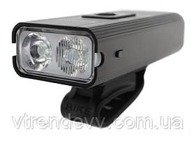 Велофара алюминиевая Bicycle Lamp USB WD-421 Black