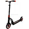 Самокат двухколесный BEST SCOOTER амортизатор, колеса PU, 200 мм, оранжевый, до 100 кг (23023)