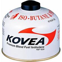 Резьбовой газовый баллон картридж с топливом Kovea KGF-0230 - использование одноразовое