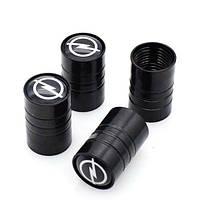 Ковпачки на ніпель для Опель Alitek Long Black Opel (4 шт)