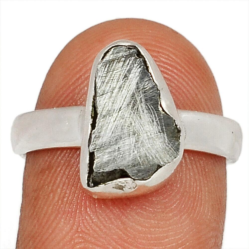 Метеорит Кампо-дель-Сьело серебряное кольцо, 1812КМ