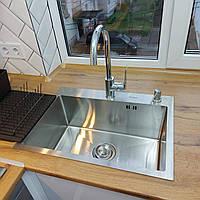 Кухонная мойка Platinum Handmade 5843 HD-D001