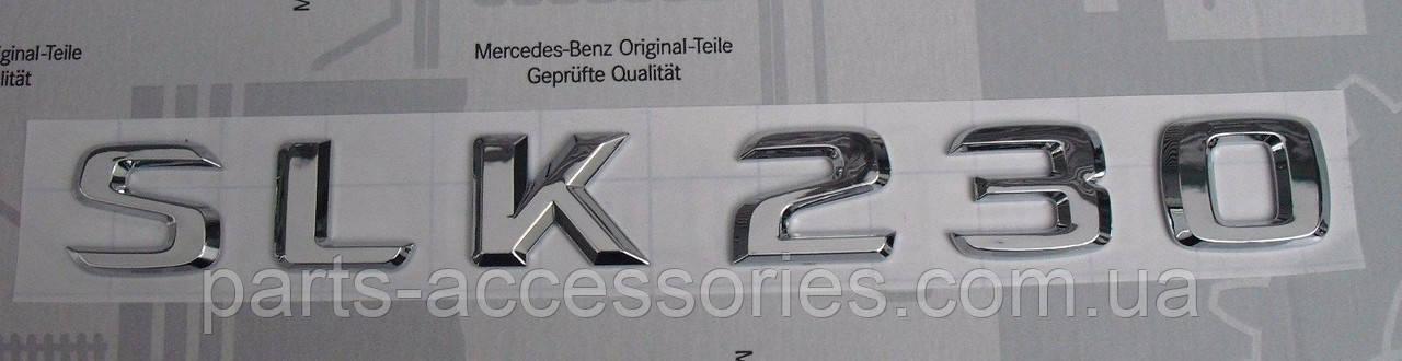 Mercedes SLK Class R170 1996-04 эмблема значок на багажник SLK230 новый оригинал