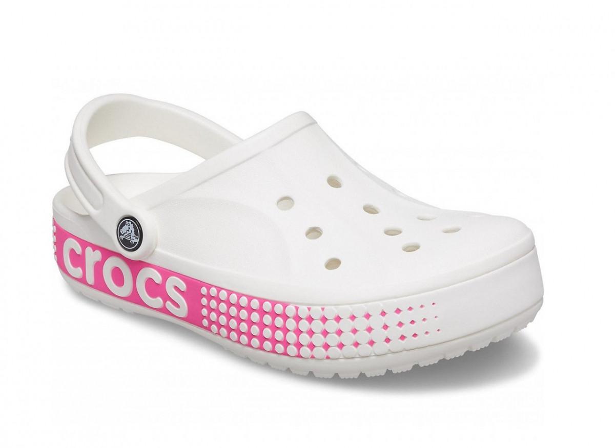 Жіночі крокси Crocs Bayaband Logo Motion білі 39 р.