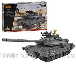 Конструктор 3383 Військовий Танк World Military 742 деталі
