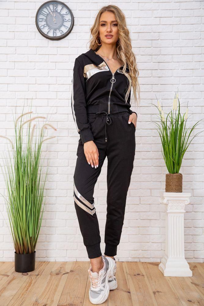 Спортивний костюм для жінок колір чорний, розмір L SKL87-297563