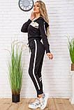 Спортивний костюм для жінок колір чорний, розмір L SKL87-297563, фото 2