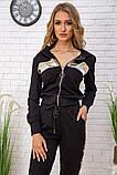 Спортивний костюм для жінок колір чорний, розмір L SKL87-297563, фото 4