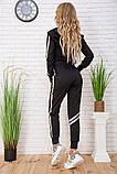 Спортивний костюм для жінок колір чорний розмір M SKL87-297564, фото 3