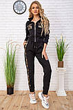 Cпортивный костюм для женщин цвет черный размер L SKL87-297565, фото 2