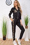 Cпортивный костюм для женщин цвет черный размер L SKL87-297565, фото 3