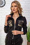 Cпортивный костюм для женщин цвет черный размер L SKL87-297565, фото 5
