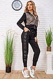 Cпортивный костюм для женщин цвет черный размер M SKL87-297568, фото 2