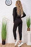 Cпортивный костюм для женщин цвет черный размер M SKL87-297568, фото 3