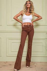 Джинси жіночі колір коричневий розмір 36 SKL87-298957