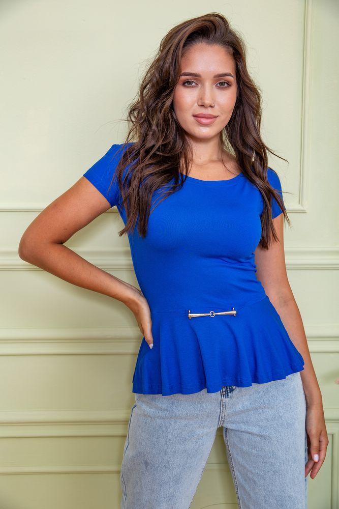 Блуза цвет электрик размер XS SKL87-297700