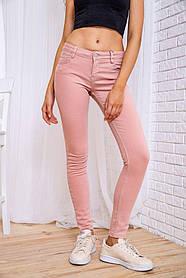 Джинси жіночі колір пудровий розмір 42 SKL87-298959