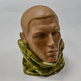 Балаклава шарф флисовая Multicam, фото 2