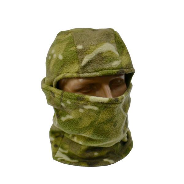 Балаклава шарф флисовая Multicam
