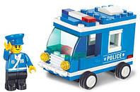 Конструктор Полицейская машина M38-B0177 Sluban, 64 детали