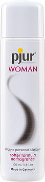 Смазка на силиконовой основе pjur Woman 100 мл, без ароматизаторов и консервантов специально для нее Bomba💣