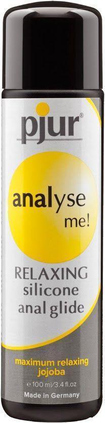 Анальная смазка pjur analyse me! Relaxing jojoba silicone 100 мл на силиконовой основе с жожоба Bomba💣
