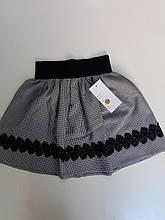 Школьная юбка для девочки р. 128-146