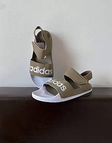 Женские сандали Adidas Sandals Olive White
