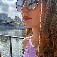 Ланцюжок для окулярів з медичного золота BLESTKA MG 24