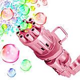 Генератор мыльных пузырей. Пулемет для мыльных пузырей. BUBBLE GUN пузыремёт. Оптом, фото 5