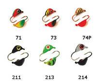 2230 Ракушка с ушком (цвет 74P) (покраска, фосфор)