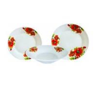 Набор столовой посуды Маки 18 предметов Оселя