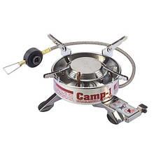 Газовая туристическая горелка Kovea Camp-1 Expedition - L 1,92кВт с пьезоподжигом и ветрозащитой