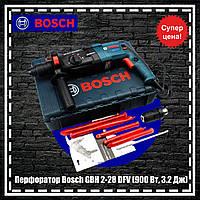Перфоратор Bosch GBH 2-28 DFV (900 Вт, 3.2 Дж) перфоратор бош