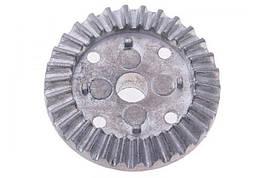 Шестерня приводу диференціала коронна метал 2 шт (Запчастина для машинок на радіоуправлінні WL Toys 144001)