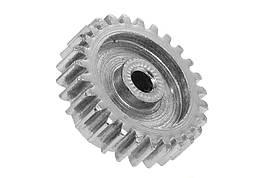 Піньон металевий під вал 3,17 мм (27Т) (Запчастина для машинок на радіоуправлінні WL Toys 144001)