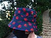 Панама Cayler & Sons синьо-червона (панамка кайлер чоловіча жіноча), фото 2