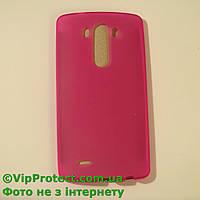 LG_D855_G3, розовый силиконовый чехол, фото 1