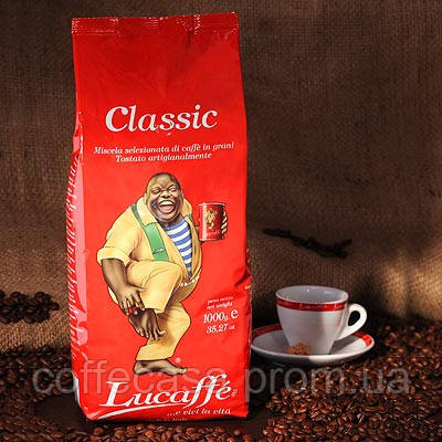 Кофе в зернах Lucaffe Classic 1кг