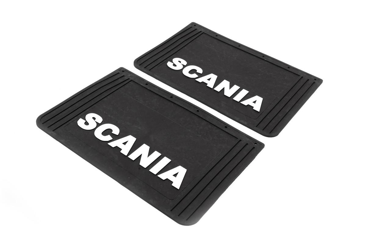 Бризковики Scania (об'ємний текст) 60*40