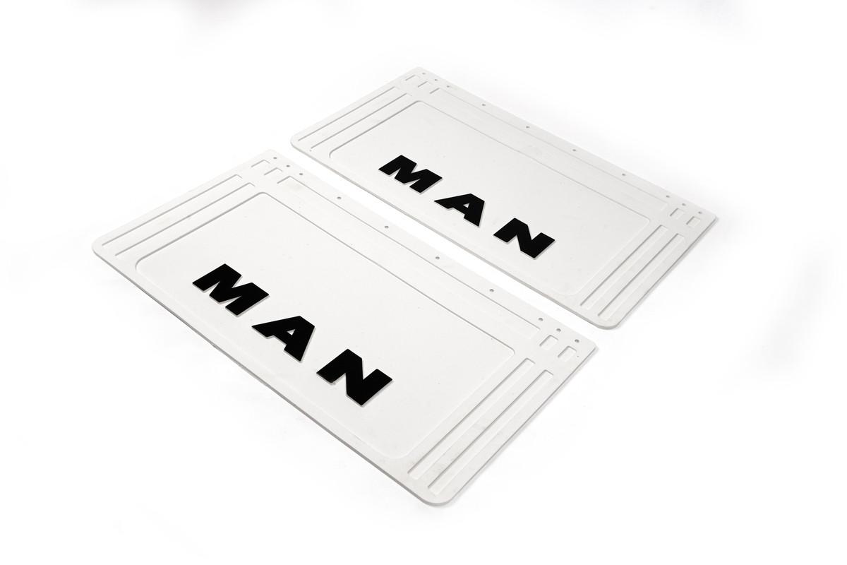 Брызговики белые Man 64*36