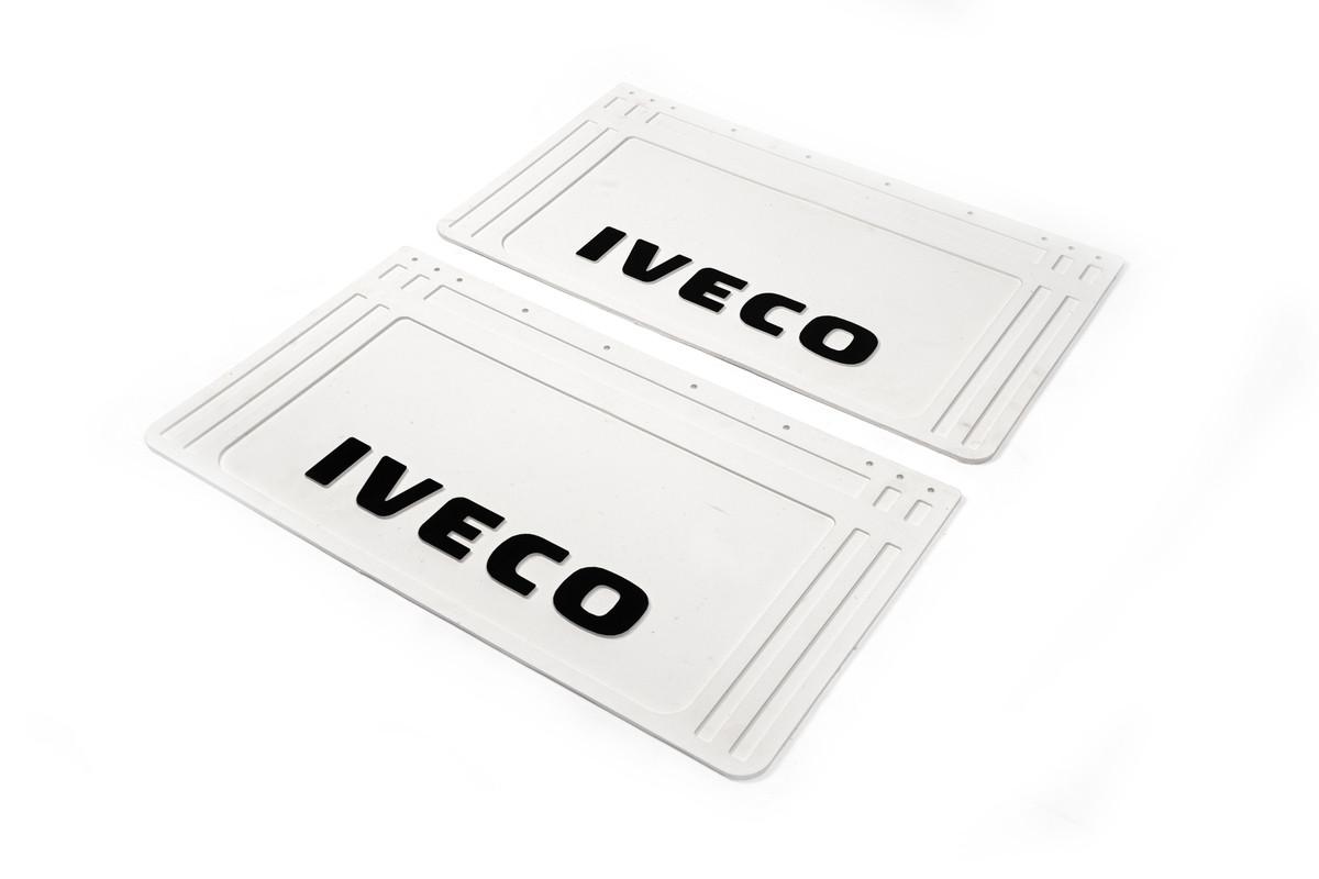 Бризковики білі Iveco 64*36