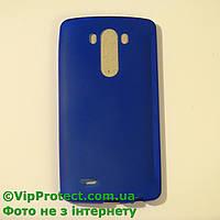 LG_D855_G3, синий силиконовый чехол, фото 1