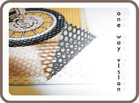 Широкоформатная печать на перфорированной пленке (One Way Vision), фото 1