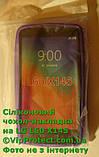LG_X145_L60, сиреневый силиконовый чехол, фото 5