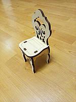 Деревянная заготовка стул