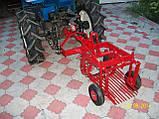 Картофелекопалка к минитрактору КТМ-2С (смещенная) грохотного типа без кардана, фото 5