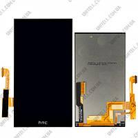 HTC M8 black LCD, модуль, дисплей с сенсорным экраном