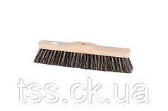 Щетка для пола MASTERTOOL 330х55х80 мм конский волос деревянная без ручки 14-6342
